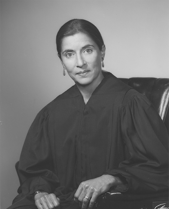 1980: Ginsburg is nominated on April 14 by President Jimmy Carter to the U.S. Court of Appeals for the District of Columbia Circuit, and her appointment is confirmed by the Senate on June 18, 1980. Courtesy Columbia Law School.